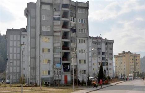 Karabük'te mühürlenen binalarda