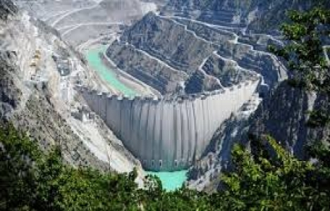 Artvin Yusufeli Barajı'nda inşaat sürüyor!