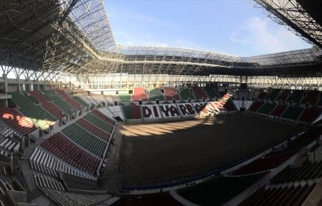 Diyarbakır Stadı'nın yüzde 92'si tamam!