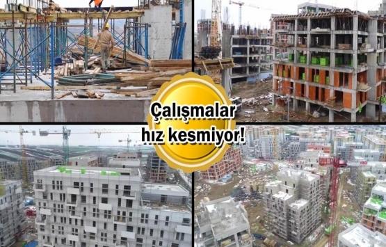 KİPTAŞ Silivri 4. Etap'ta inşaat seviyesi yüzde 30'a ulaştı!