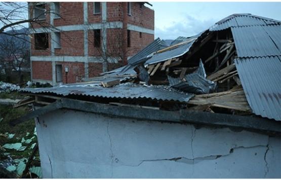 Ordu'daki şiddetli fırtınada 175 konut, 32 okul ve 13 kamu binası hasar gördü!