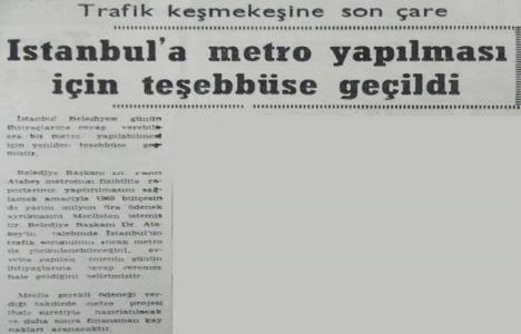 1969 yılında metro