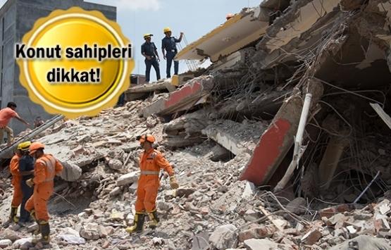 Çöken binaların zararı