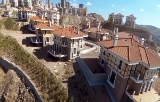 TOKİ Kuzey Ankara Kent Girişi'nde yer alan villalar satışta!