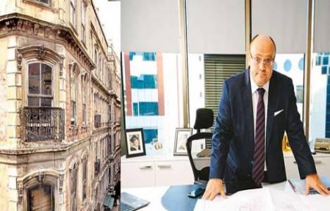 Haluk Sert kentsel dönüşüme 30 yıl önce binaları yenileyerek başladı!