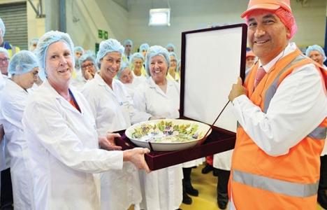 Ülker, İngiltere'deki fabrikasını