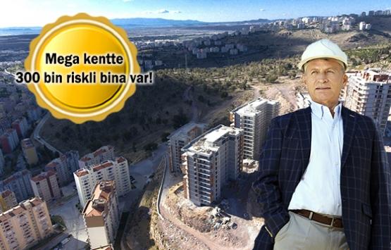 İzmir'de binaların yüzde