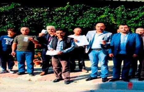 Aliağa Şakran Mahallesi sakinlerinin atık su parası isyanı!