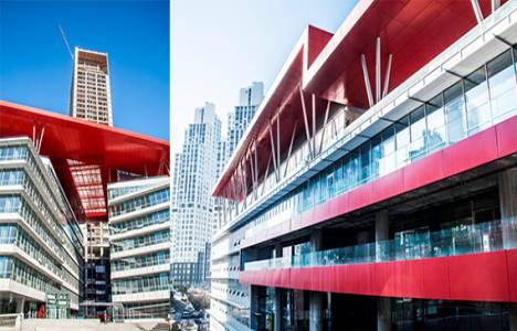42 Maslak Yatay Ofisleri Türkiye'nin ilk LEED Platinum Yeşil Bina Sertifikası'nı aldı!