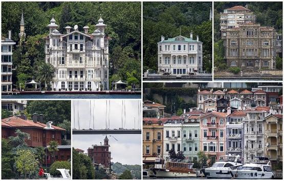 İstanbul Boğaz'ının yalıları