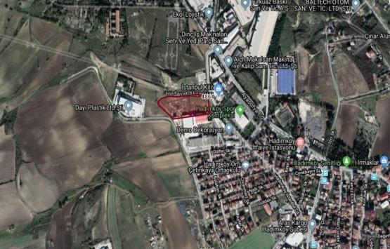 Hadımköy'de 28.4 milyon TL'ye icradan satılık tarla!
