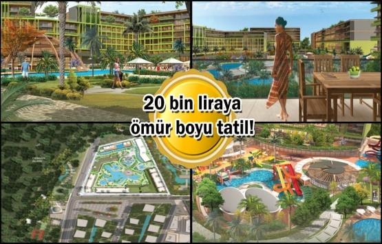 Sur Yapı Tatil Evleri Antalya ön talep topluyor! Yeni proje!