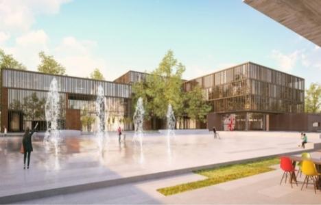 İnegöl Belediyesi Yeni Hizmet Binası Berlin'de yarışacak!