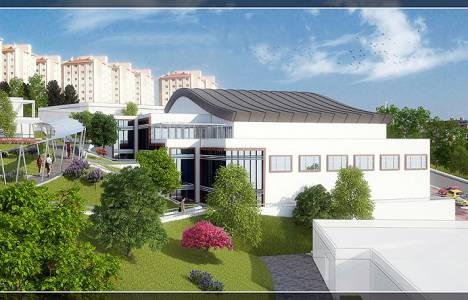 İzmir Sosyal Yaşam Kampüsü'nün inşaatı devam ediyor!