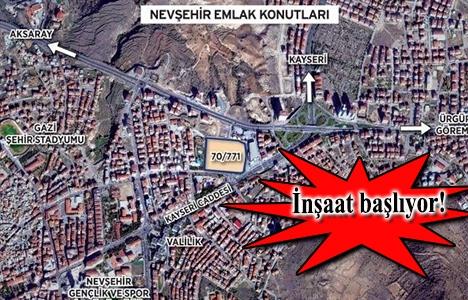 Cent Yapı Nevşehir Emlak Konutları projesinde imzalar atıldı!