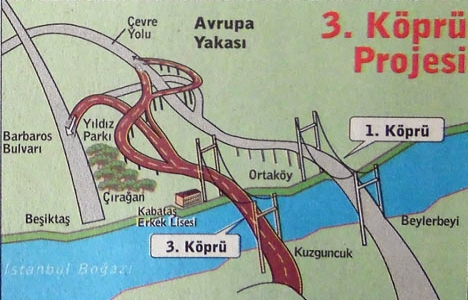 1996 yılında Boğaz'a