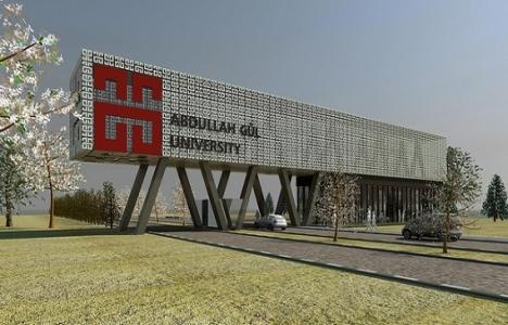 Abdullah Gül Üniversitesi'ndeki