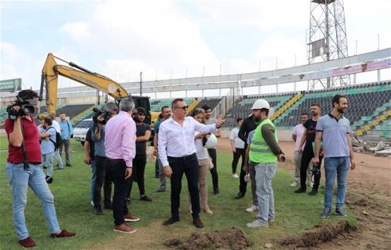 Denizli Atatürk Stadı yenileniyor!