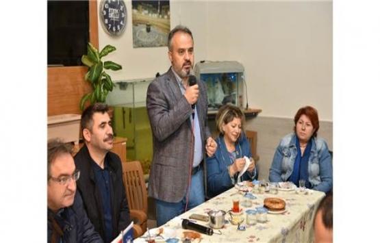 Alinur Aktaş: Bursa'yı