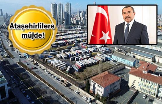 Erenköy'deki gümrük alanı