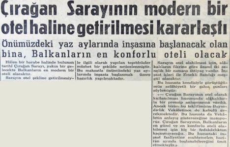 1955 yılında Çırağan