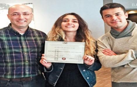 UAÜ mühendislik öğrencileri mimarlık projesinde birinci oldu!