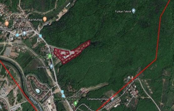 Çekmeköy Sırapınar Mahallesi 638 ve 639 parsellerin imar planı askıda!