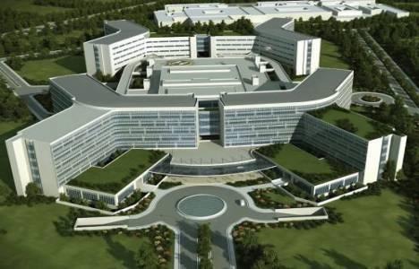 Bursa Şehir Hastanesi 2018'de tamamlanacak!