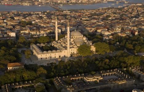 Fatih'te binaların dış