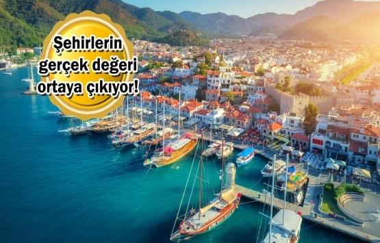Türkiye'nin en değerli illeri: İstanbul ve Muğla!