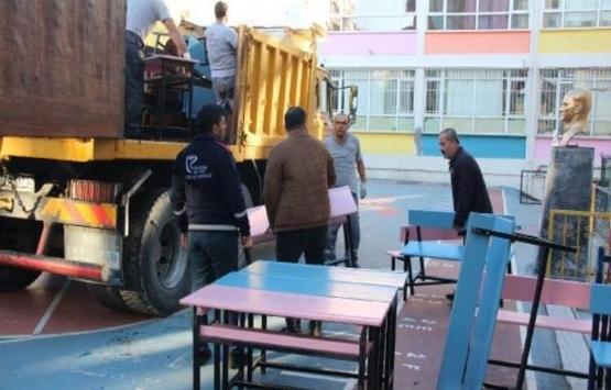 Güngören'deki Abdi İpekçi İlkokulu tahliye ediliyor!