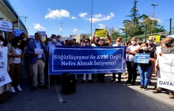 Söğütlüçeşme'deki AVM Gar projesine tepki!