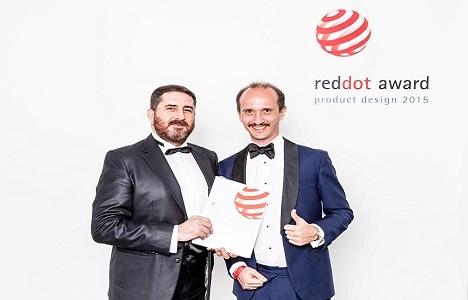 ISVEA'nın Sott'Aqua serisine Red Dot Design'den ödül!
