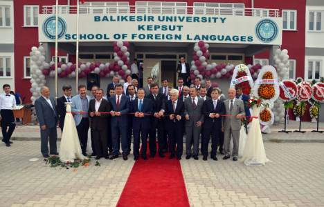 Balıkesir Üniversitesi Yabancı Diller Yüksek Okulu'nun açılışı yapıldı!