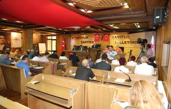 Çatalca Belediye Meclisi'nde imar görüşüldü!