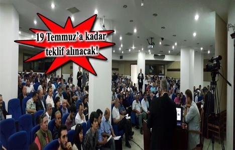 TOKİ'nin açık artırma ihalesine 8 milyon TL teklif geldi!