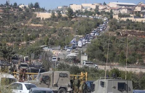 Filistinlilere ait arazi Yahudi yerleşimcilere verildi!