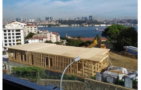 Hüseyin Avni Paşa Korusu'na kaçak inşaat mı yapılıyor?