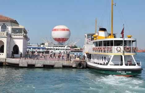 Kadıköy'deki Balon'un yerine