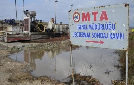 Trakya'nın ilk jeotermal