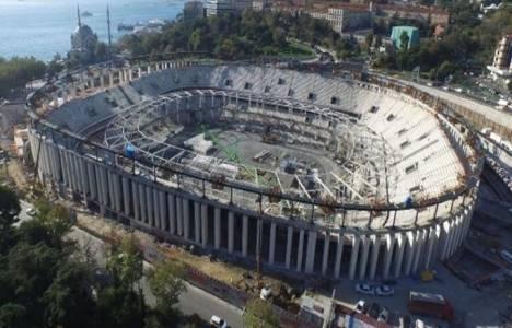 Vodafone Arena'nın çatı kaldırma işleminde sona gelindi!