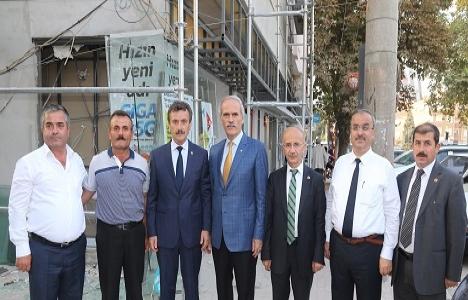 Bursa Yenişehir'de cephe