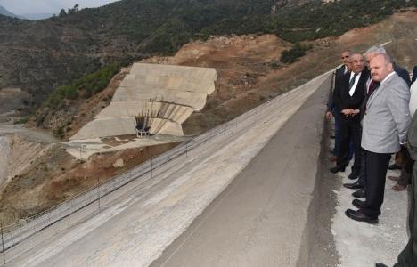Mersin Pamukluk Barajı projesinin yüzde 84'ü tamamlandı!