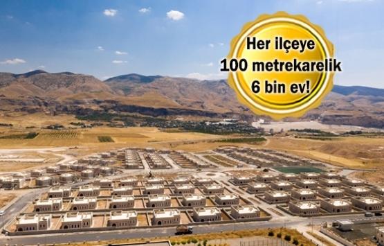 Güvenli bölgeye 200 bin konutluk proje!
