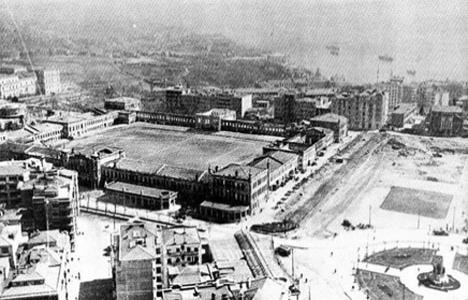 1939 yılında Taksim