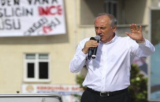 Muharrem İnce: Erdoğan