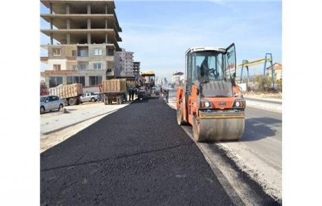 Mersin Erdemli'de asfaltlar yenileniyor!