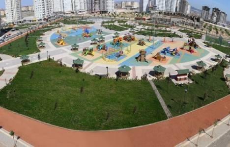 Akkent'e yeni park inşa ediliyor!