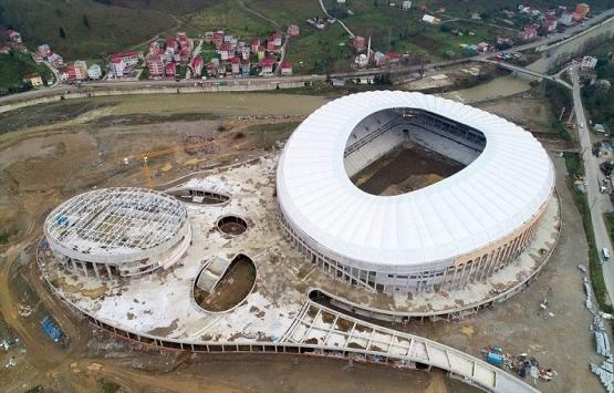 Giresun Çotanak Spor Kompleksi son virajda!