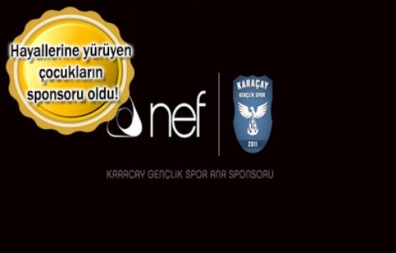 NEF, Karaçay Gençlik Spor'un sponsoru oldu!